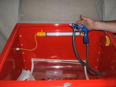 Large Bench Top Sandblast Cabinet Big Sand Blaster