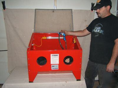 Sandblasting Cabinet Tractor Supply Jobsmart Sandblasting