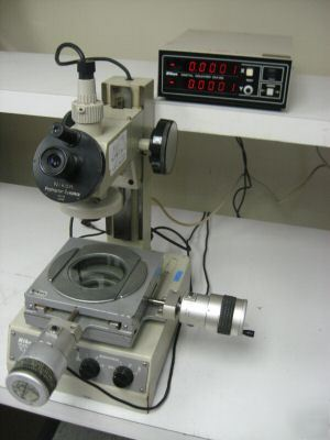 Nikon measurescope 10 w nikon inspection microscope