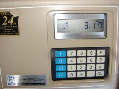 amano time clock mjr 7000 manual