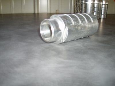 Aluminum Air Compressor Exhaust Silencer Mufflers Provided Image on Combustion Engine