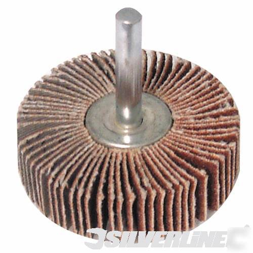Drill Bit Sanding Flap Wheel 80mm 40g 589669