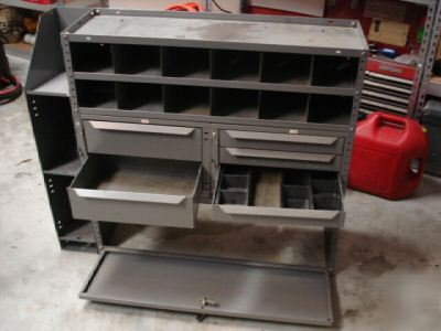 Metal Storage Cabinets For Cargo Vans