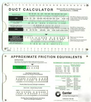 Hvac Duct: Hvac Duct Size Calculator