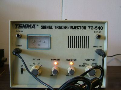 Tenma signal tracer/injector #72-540 audio tester