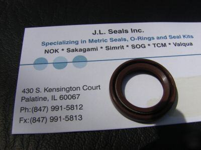 1.375X2.250X.327 tcv pump oil seal 232855 seals nok