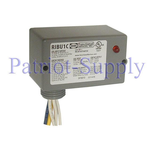 Universal 24  120v Ribu1c Relay In A Box Hvac Control