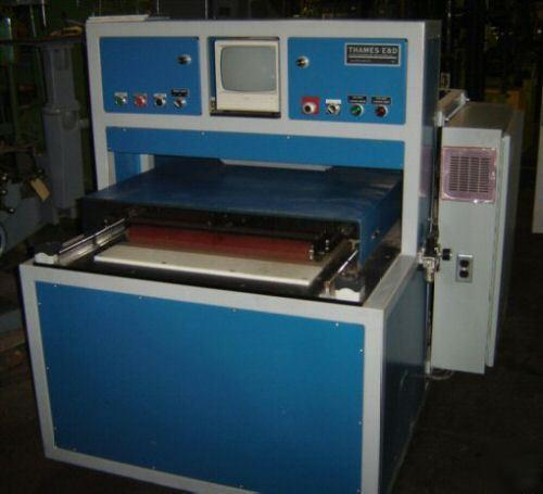 Electronics Assembly Station : Gasket glass assembly station made by thames e d