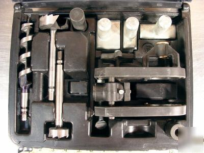 Porter Cable No 511 Cylindrical Lock Boring Jig Kit