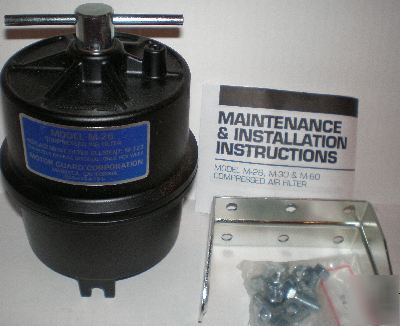 Motor Guard M 26 Compressed Air Filter 1 4 Npt 00235