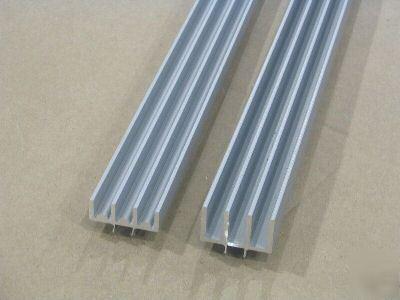 8020 T Slot Aluminum Door Track Set 15 S X 48 1 Set S