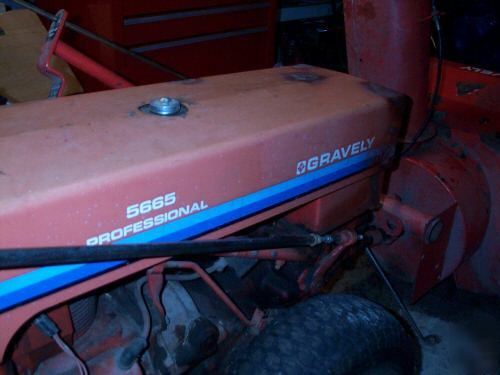 Gravely 5660 Professional Walk Behind Tractor