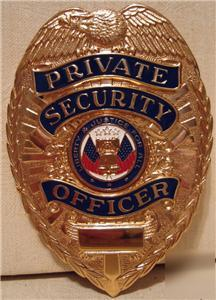 Security Enforcement Officer Badge