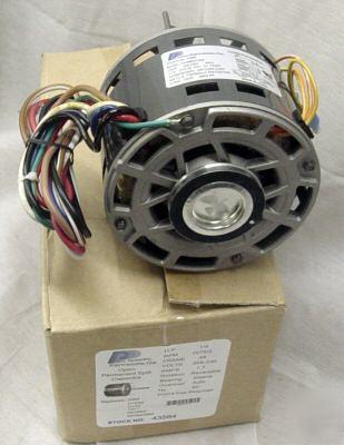 1 4 hp 1075 230v 3 speed furnace blower fan motor 3584 for 1 4 hp furnace blower motor
