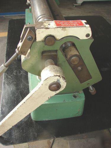 Diacro Di Acro 24 Slip Roll Rolls Roller Machine