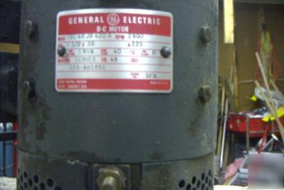 Electric Hydraulic Pump >> Hydraulic pump 36 volt dc general electric motor plus p