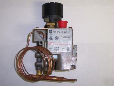 Sit 630 Eurosit Nat Gas Valve W Bulb Fireplace Heater