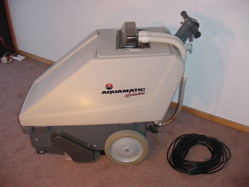 Advance aquamatic seletxic carpet extractor cleaner - Advance carpet extractor ...