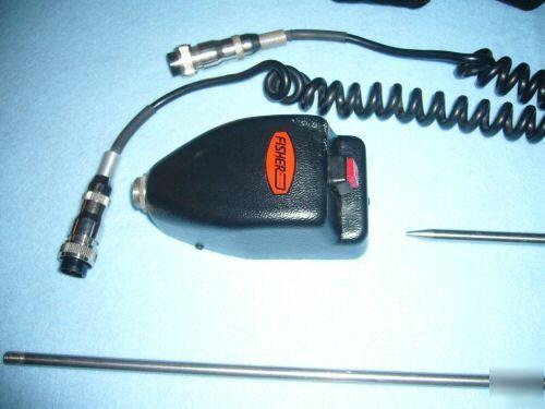 Water Leak Detector >> Fisher leak detector water pipe locator slab pool leaks