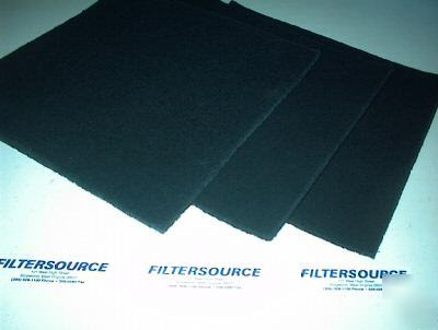 Paint booth filter 20X20 carbon odor voc adsorption pad