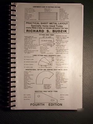 Sheet Metal Layout Specialty Items Richard Budzik Book