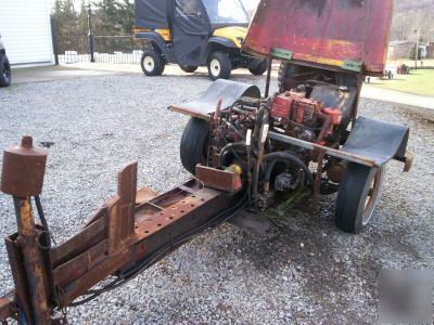 Log splitter - homemade briggs & stratten engine