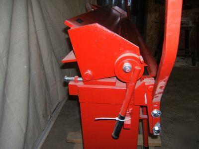 6 Foot 16 Gauge Box Pan Finger Sheet Metal Brake Bender