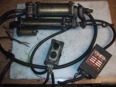 9 south bend lathe bellows air motor auto feed. Black Bedroom Furniture Sets. Home Design Ideas