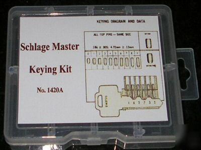 Schlage master keying kit locksmith tools