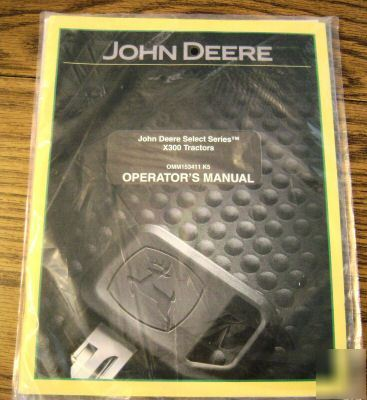 John Deere X Lawn Tractor Operator S Manual Jd Book Provided Image