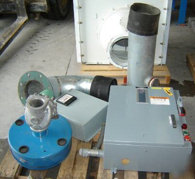 Used 50 Hp Lamson Arco Wand Vacuum System 5078