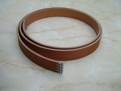 south bend lathe belt. south bend lathe and other flat belts (4-ply) best made belt h