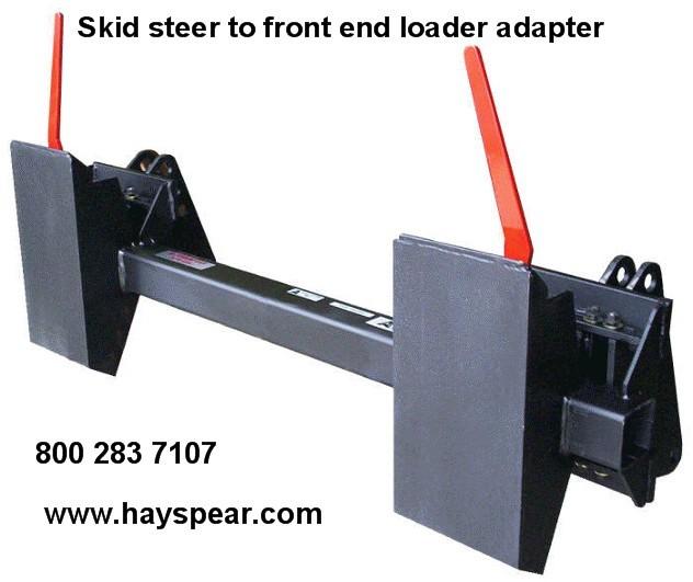 Tractor Loader Adapters : Skid steer tractor adaptor